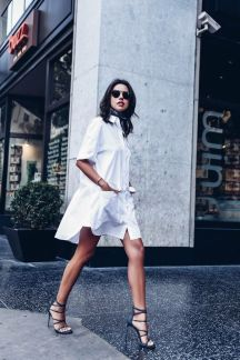 Most cute short white dresses outfits design ideas 5