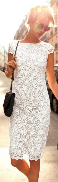 Most cute short white dresses outfits design ideas 56