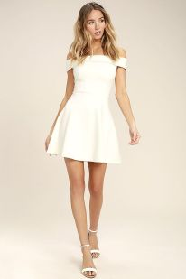 Most cute short white dresses outfits design ideas 58