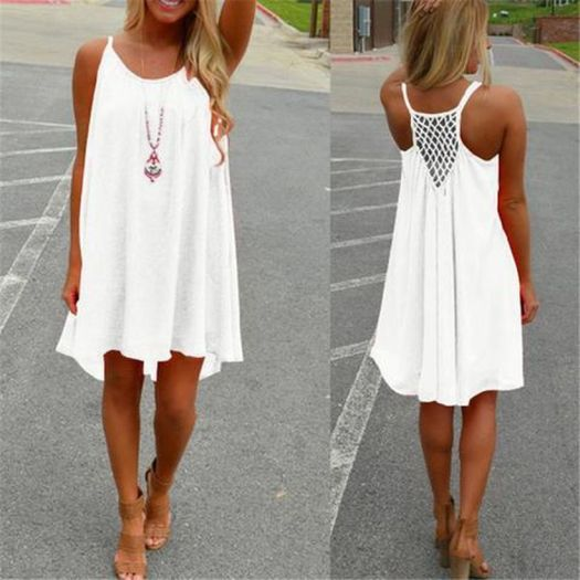 Most cute short white dresses outfits design ideas 63