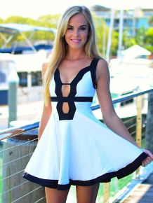 Most cute short white dresses outfits design ideas 71