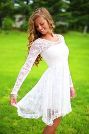 Most cute short white dresses outfits design ideas 80