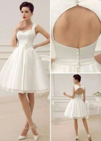 Most cute short white dresses outfits design ideas 91