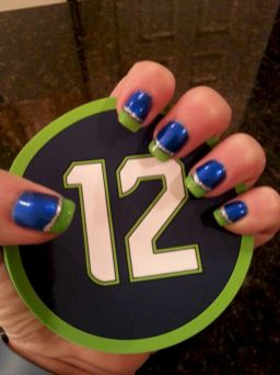 Seahawks nails design 35