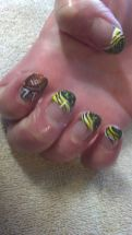 Seahawks nails design 55