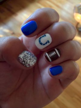 Seahawks nails design 62