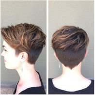 Short messy pixie haircut hairstyle ideas 11
