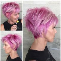 Short messy pixie haircut hairstyle ideas 46