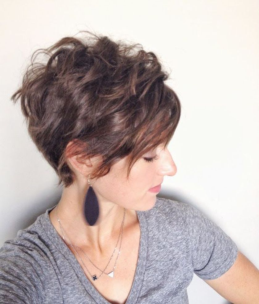 Short messy pixie haircut hairstyle ideas 58