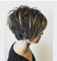 Short messy pixie haircut hairstyle ideas 65