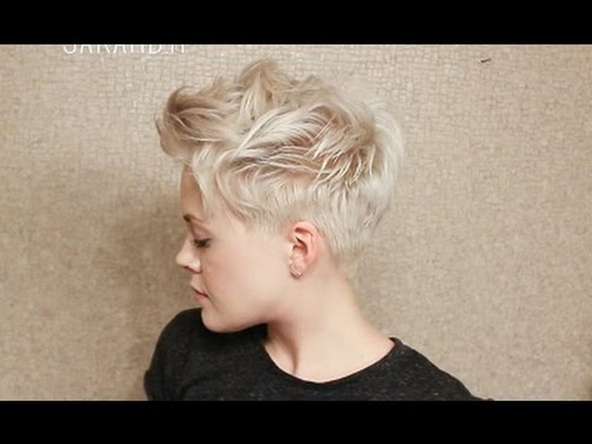 Short messy pixie haircut hairstyle ideas 70