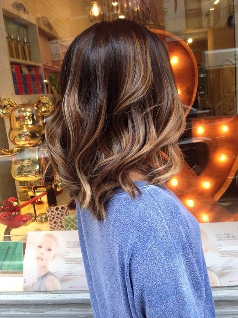 Stunning fall hair colors ideas for brunettes 2017 44
