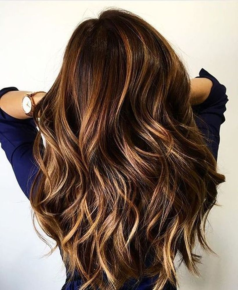 Stunning fall hair colors ideas for brunettes 2017 7