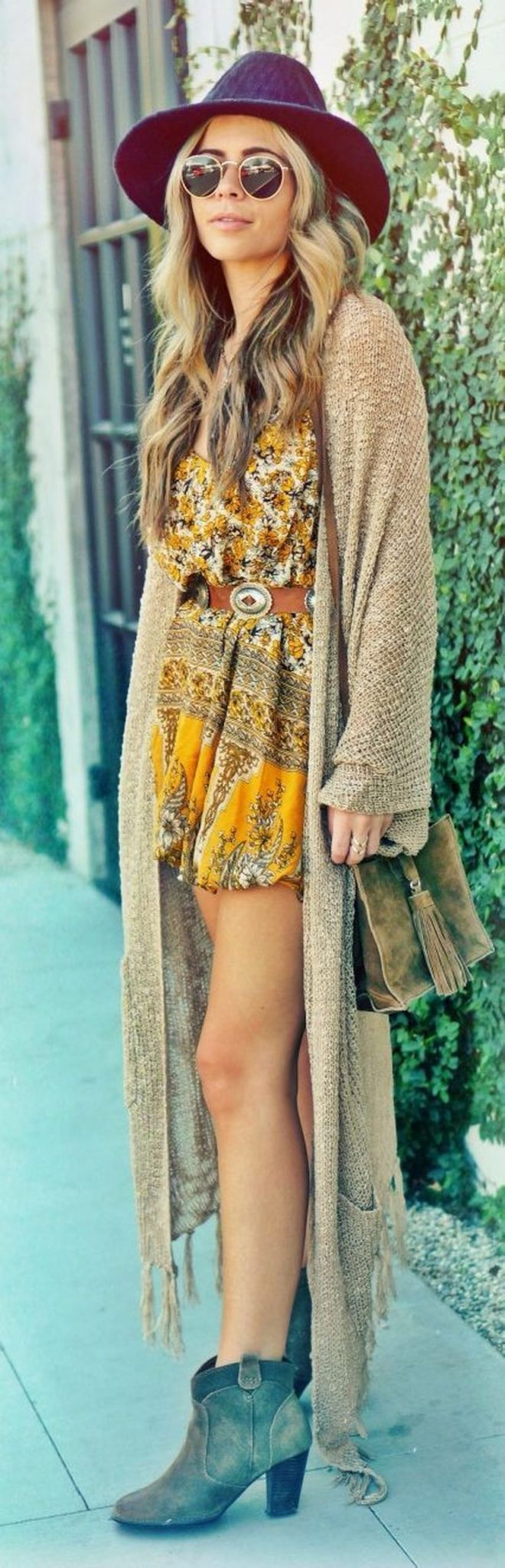 Stylish bohemian boho chic outfits style ideas 112