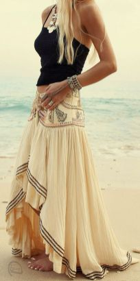 Stylish bohemian boho chic outfits style ideas 118