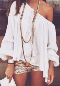 Stylish bohemian boho chic outfits style ideas 24