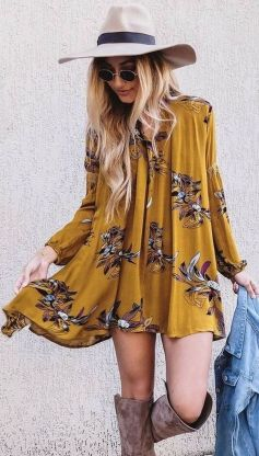 Stylish bohemian boho chic outfits style ideas 37
