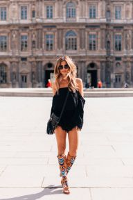 Stylish bohemian boho chic outfits style ideas 49