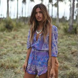 Stylish bohemian boho chic outfits style ideas 5
