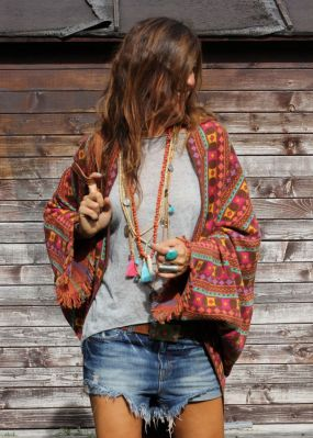Stylish bohemian boho chic outfits style ideas 52