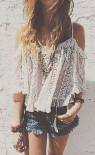 Stylish bohemian boho chic outfits style ideas 55