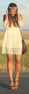 Stylish bohemian boho chic outfits style ideas 58