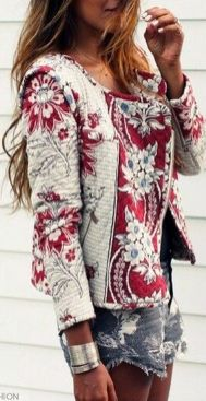 Stylish bohemian boho chic outfits style ideas 68