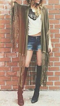 Stylish bohemian boho chic outfits style ideas 71