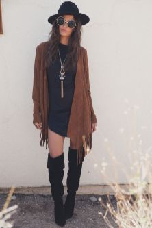 Stylish bohemian boho chic outfits style ideas 75