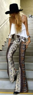 Stylish bohemian boho chic outfits style ideas 77