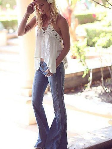 Stylish bohemian boho chic outfits style ideas 8