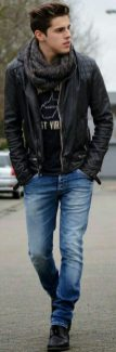 Stylish men's jeans outfits ideas in 2017 25
