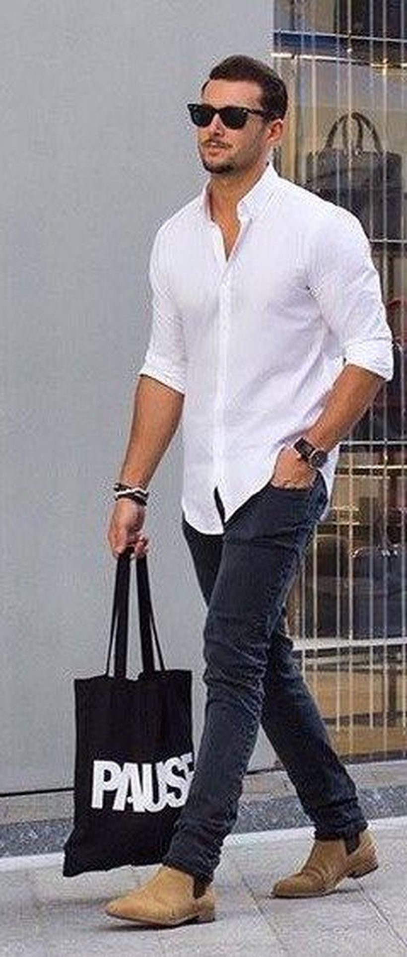 Stylish men's jeans outfits ideas in 2017 51