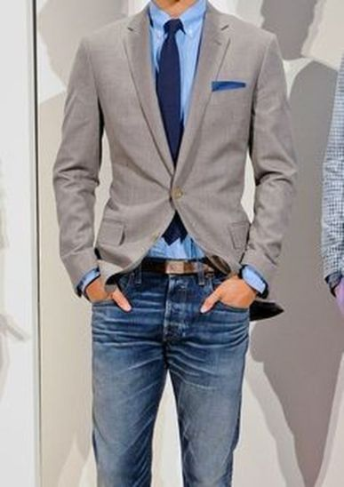 Stylish men's jeans outfits ideas in 2017 82