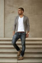 Stylish men's jeans outfits ideas in 2017 84
