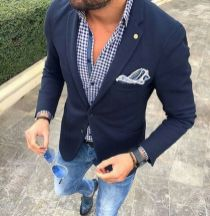 Stylish men's jeans outfits ideas in 2017 85