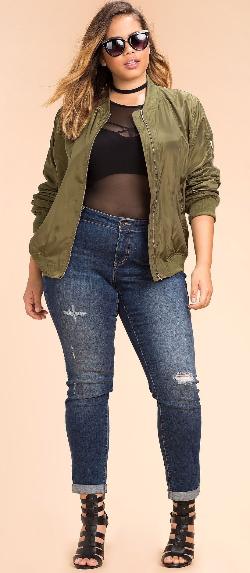 Stylish plus size outfits for winter 2017 105