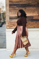 Stylish plus size outfits for winter 2017 115