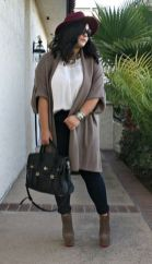 Stylish plus size outfits for winter 2017 116