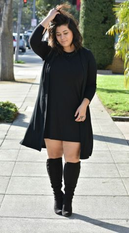 Stylish plus size outfits for winter 2017 127