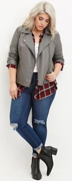 Stylish plus size outfits for winter 2017 131