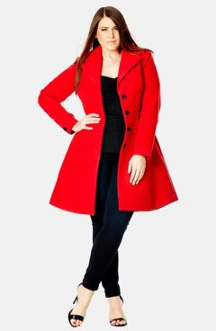 Stylish plus size outfits for winter 2017 14