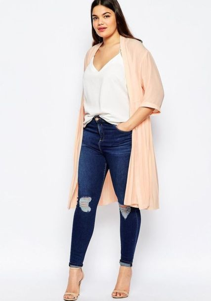Stylish plus size outfits for winter 2017 22