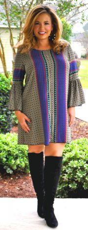 Stylish plus size outfits for winter 2017 30
