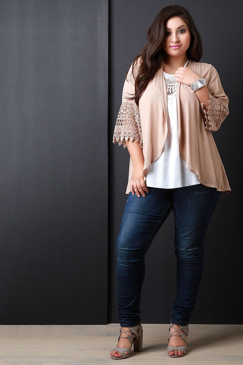 Stylish plus size outfits for winter 2017 36