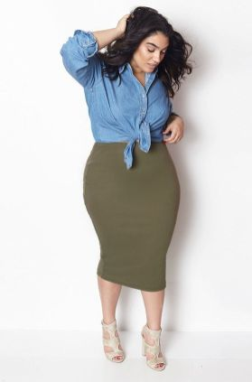 Stylish plus size outfits for winter 2017 43