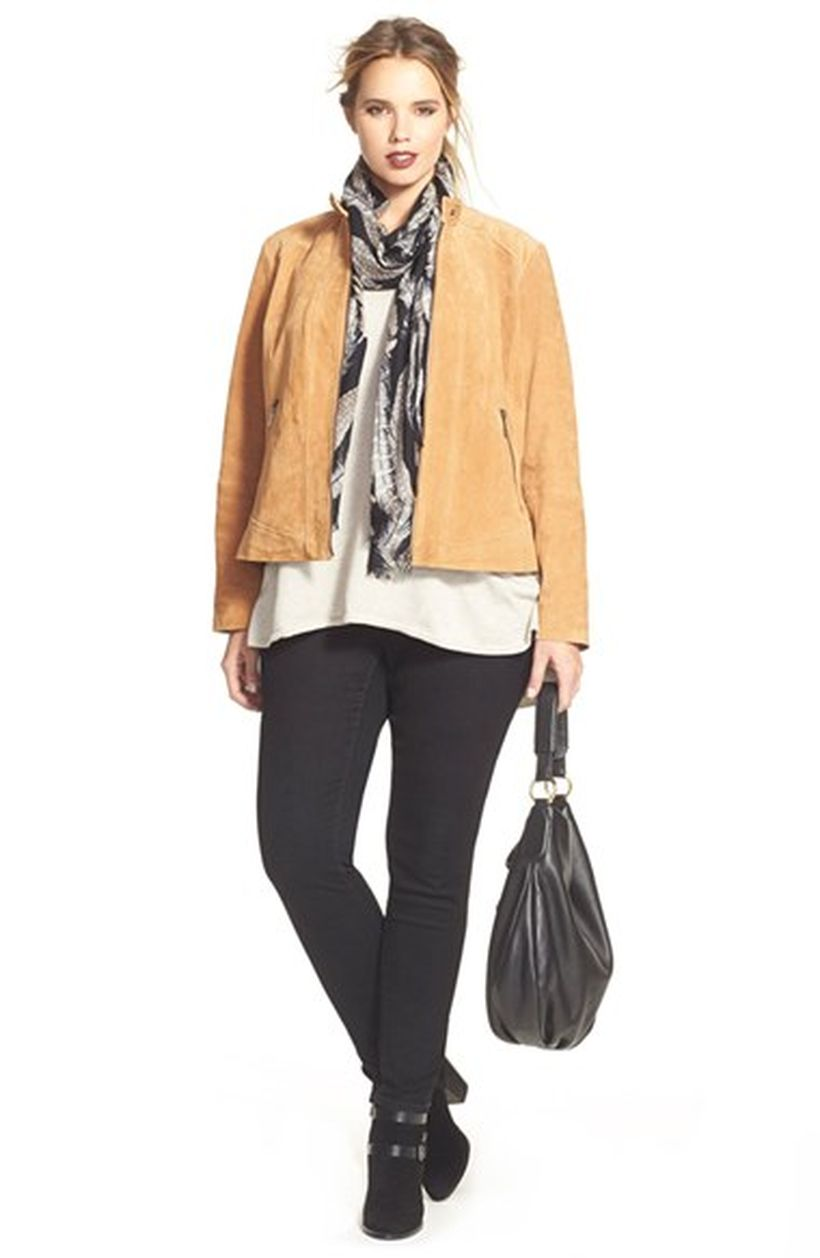 Stylish plus size outfits for winter 2017 53