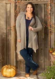 Stylish plus size outfits for winter 2017 57