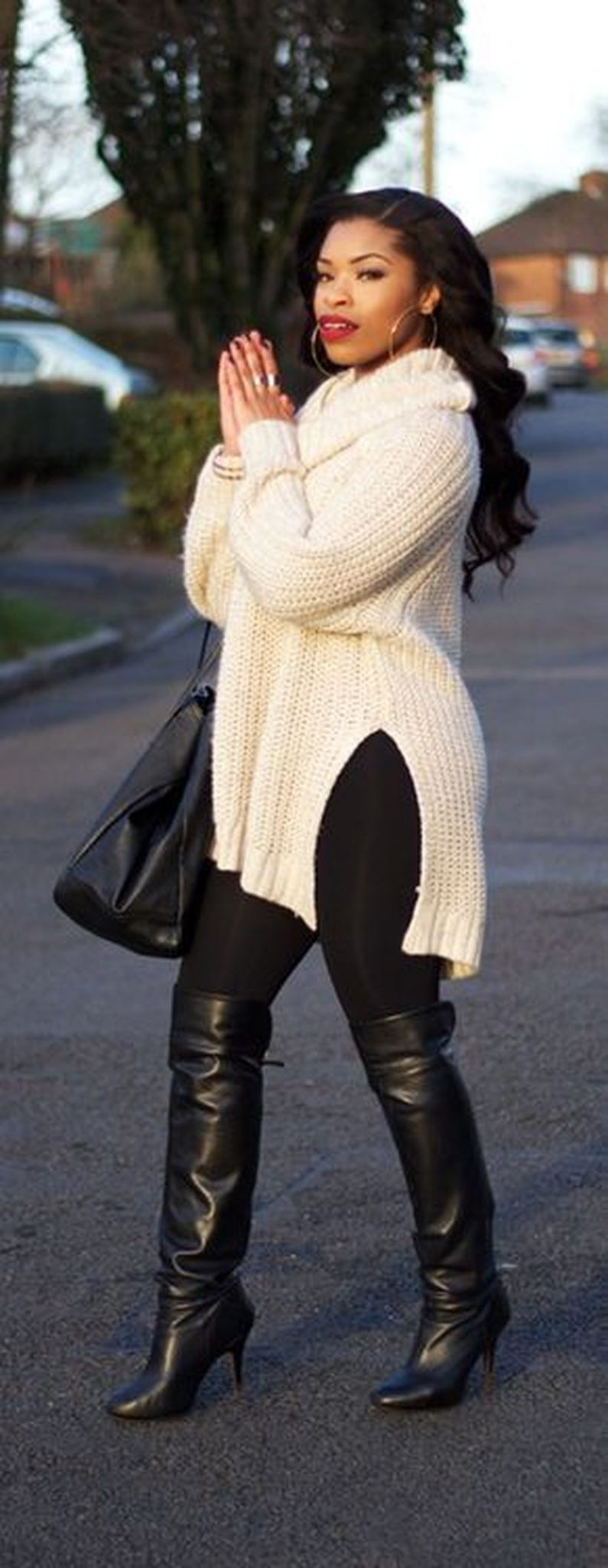 Stylish plus size outfits for winter 2017 60
