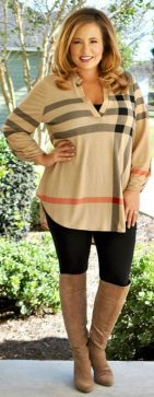 Stylish plus size outfits for winter 2017 72